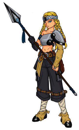 SHER ou Suikoden - The HighEast Rebellion Brunhilde