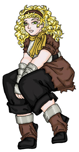 SHER ou Suikoden - The HighEast Rebellion Clarisse