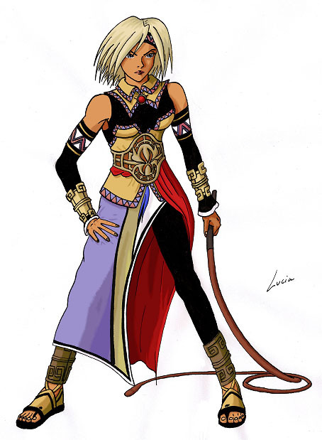 SHER ou Suikoden - The HighEast Rebellion Lucia