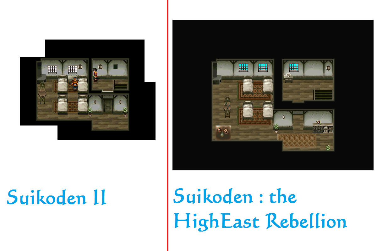 SHER ou Suikoden - The HighEast Rebellion Comparaison_Sajah_Auberge_1er_etage