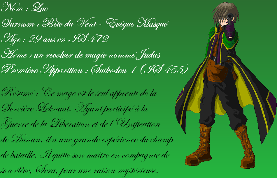 SHER ou Suikoden - The HighEast Rebellion Presentationluc